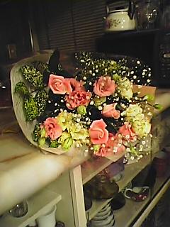 母のバースデー花束