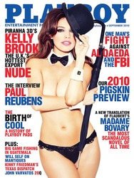 Kelly Brook Topless - Playboy Magazine Sep 2010