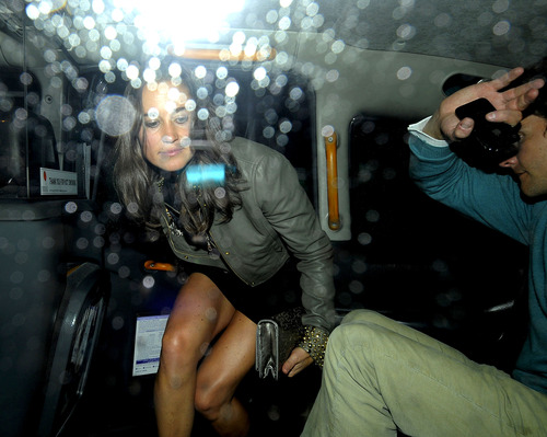 Pippa Middleton outside a nightclub in London (7)