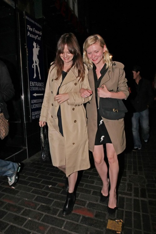 Kirsten Dunst leaving the Box in Soho London (3)