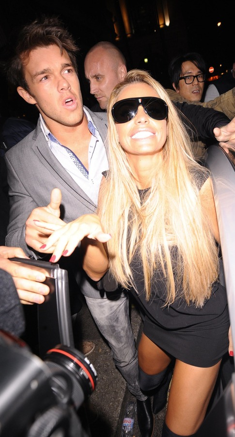 Katie Price - Balans Restaurant and Mahiki Night Club 03