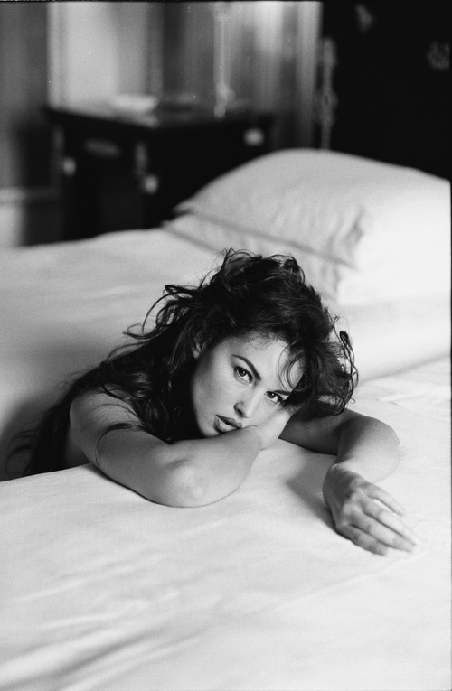 Monica Bellucci - Andrea Blanch Photoshoot 1996