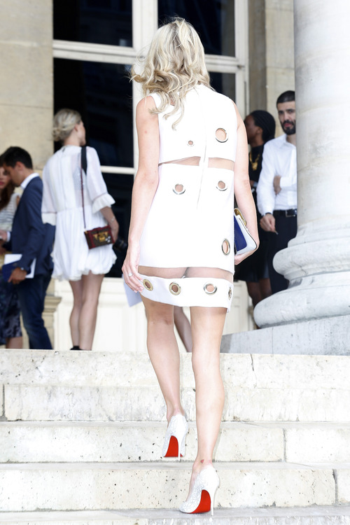 Nicky Hilton Upskirt Paris Fashion Week (16)