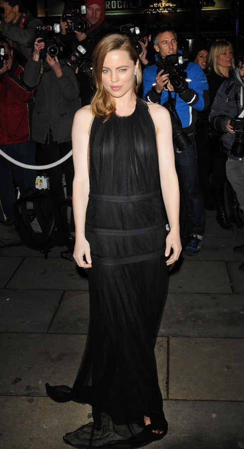 Melissa George at English National Ballet Christmas Party (1)