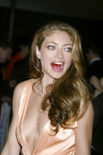 Rebecca Gayheart boob slip @ Red Dragon premiere at the Ziegfeld Theater, NYC 9-30-02