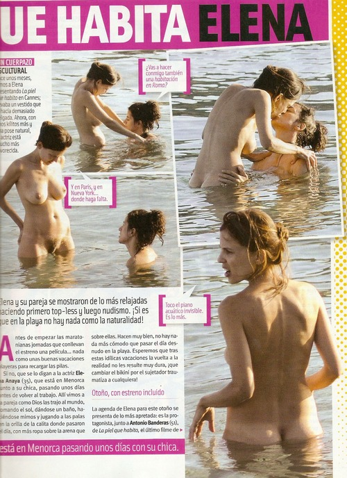 Elena Anaya - naturist beach with her girlfriend  Cuore (3)
