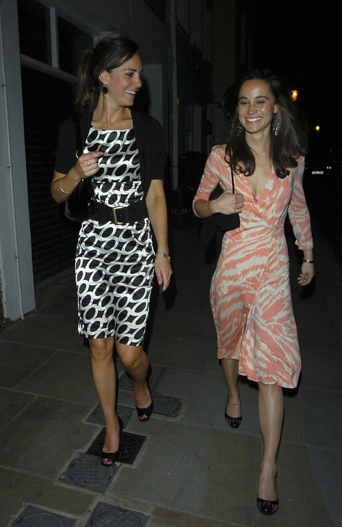 Princess Kate Middleton @ Boujis Nightclub Upskirt (14)