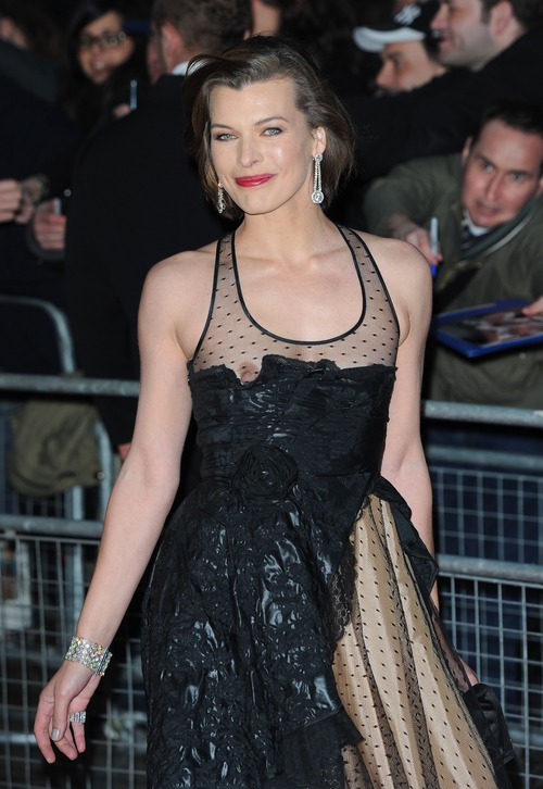 Milla Jovovich - Royal Albert Hall in London 04