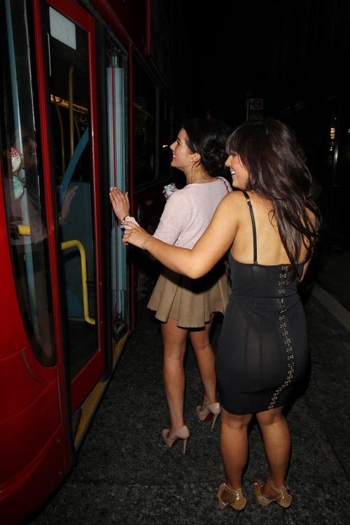 Helen Flanagan - Upskirt Shots Bus 01