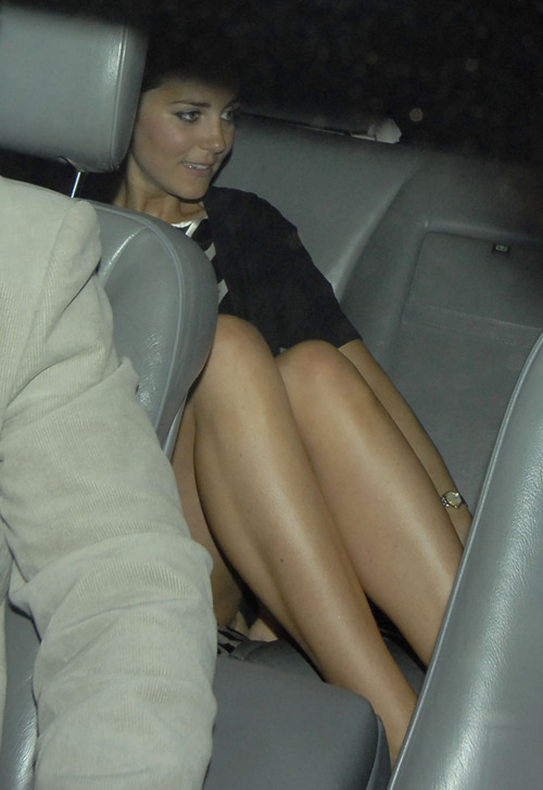Princess Kate Middleton @ Boujis Nightclub Upskirt (2)