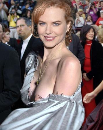 Nicole Kidman - Nip Slip