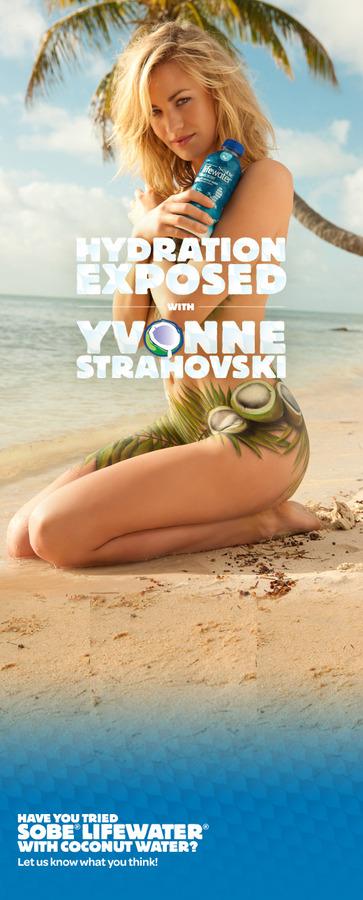 Yvonne Strahovski - painted SoBe ad (18)