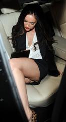 Megan Fox @ Emporio Armani ss 2011 fashion show 05