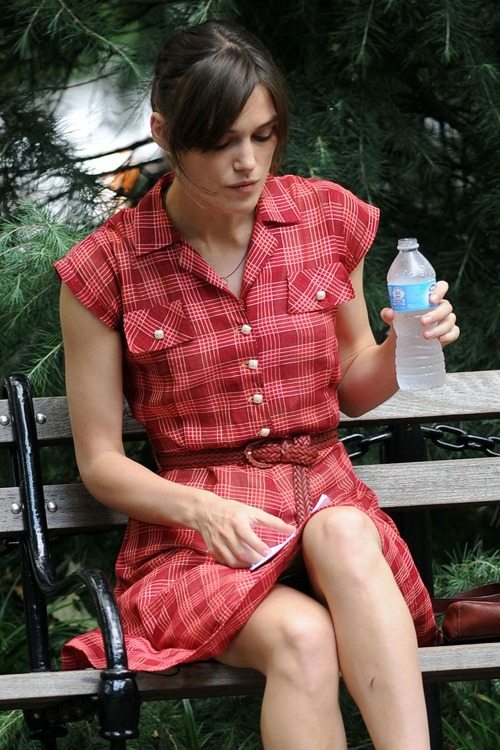 Keira Knightley - filming of Can A Song Save Your Life 08