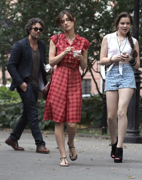 Keira Knightley - filming of Can A Song Save Your Life 06