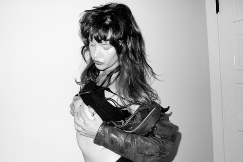Paz de la Huerta - Terry Richardson's party The Chateau Marmont