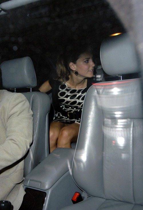 Princess Kate Middleton @ Boujis Nightclub Upskirt (7)
