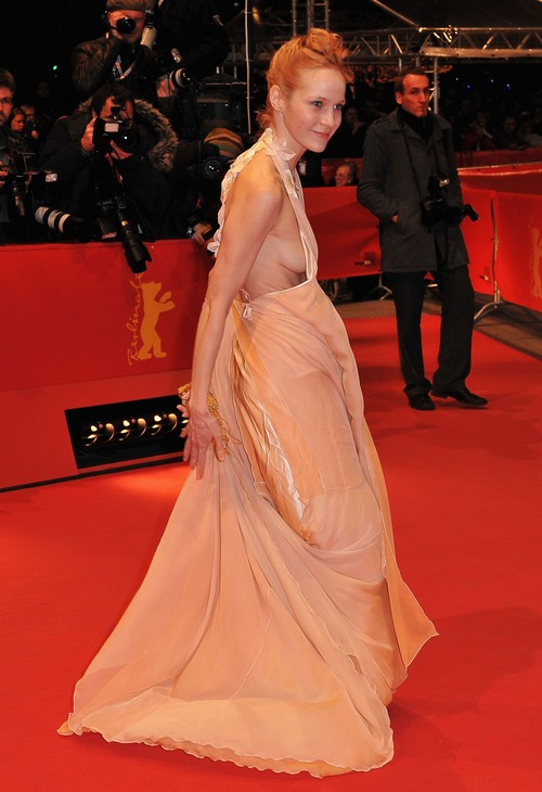 Jeanette Hain - Berlinale 2009 Awards (1)
