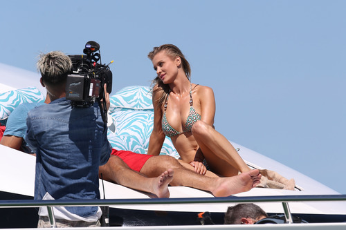 Joanna Krupa Topless in Miami on Feb 22020