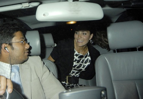 Princess Kate Middleton @ Boujis Nightclub Upskirt (5)