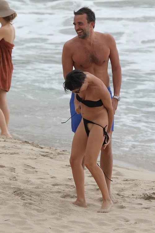 Alessandra Sublet Bikini candids in St Barts (5)