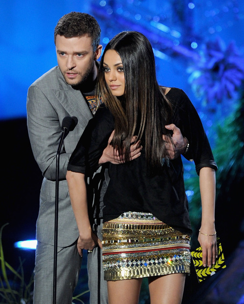 Jus & Mila Kunis - 2011 MTV Movie Awards