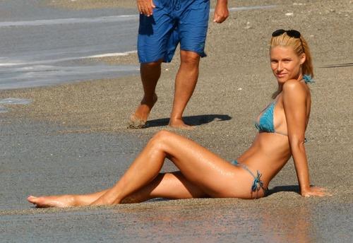 Michelle Hunziker Bikini Best shoot (1)