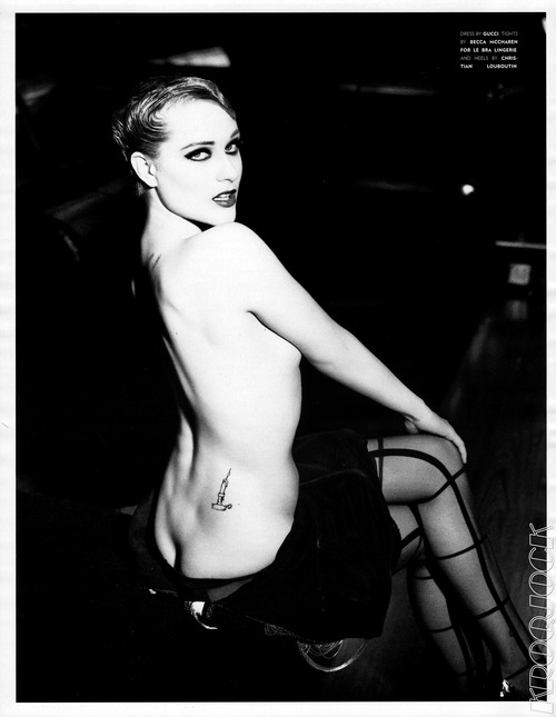 Evan Rachel Wood - Flaunt Magazine #119 2012 (2)