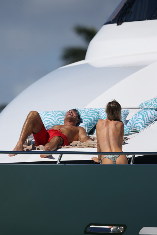 Joanna Krupa Topless in Miami on Feb 22012