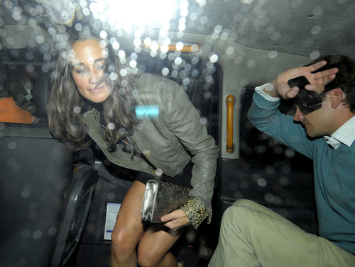 Pippa Middleton outside a nightclub in London (8)