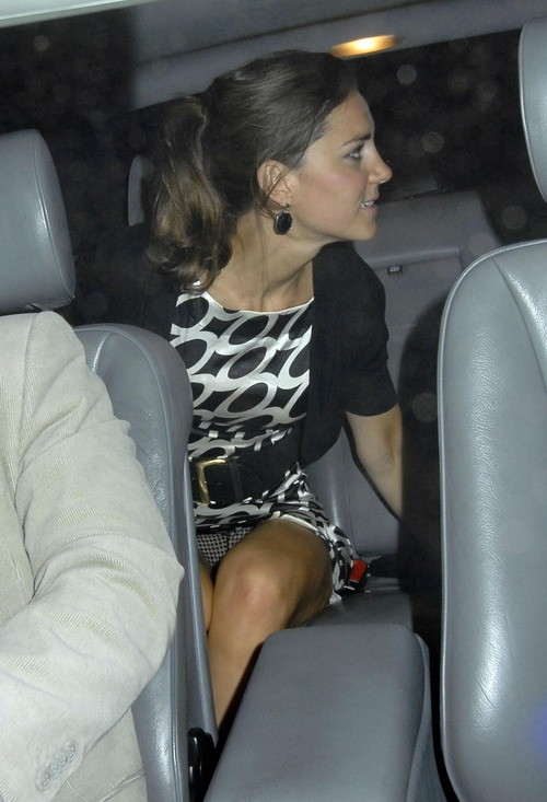 Princess Kate Middleton @ Boujis Nightclub Upskirt (11)