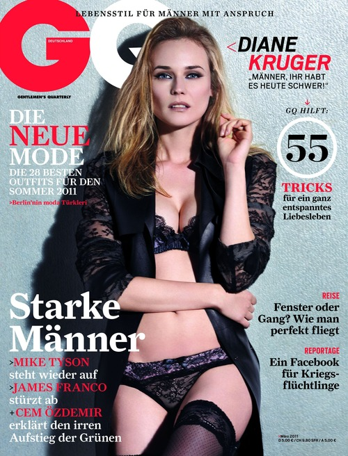 Diane Kruger  GQ Magazine Germany March 2011