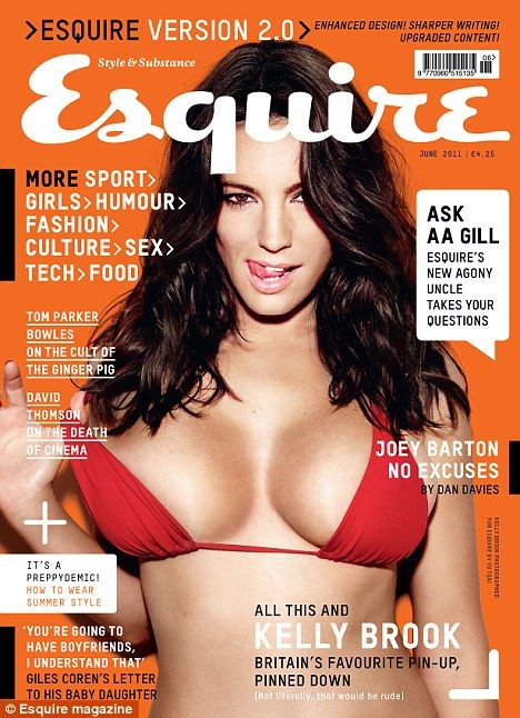 Kelly Brook - Esquire June 2011