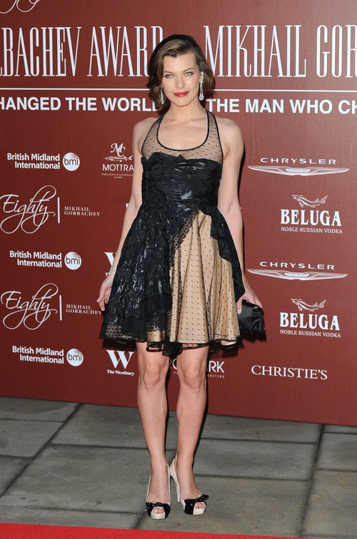Milla Jovovich - Royal Albert Hall in London 08
