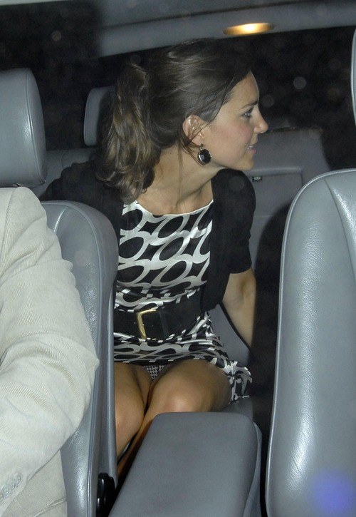 Princess Kate Middleton @ Boujis Nightclub Upskirt