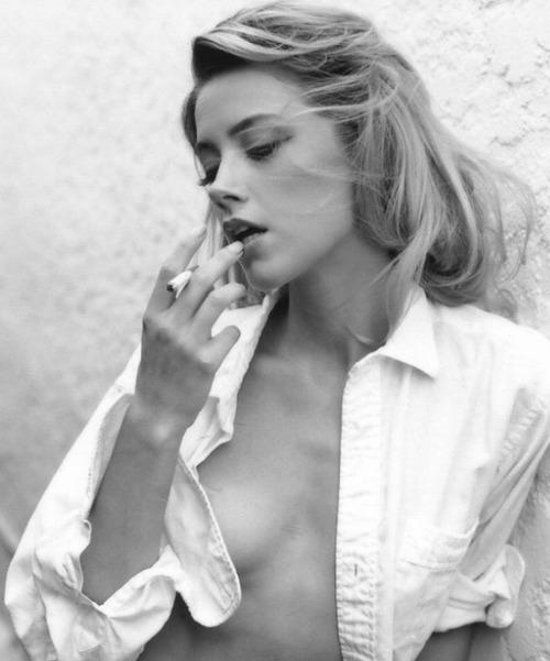 Amber Heard Topless in Tasya Van Ree PS (7)