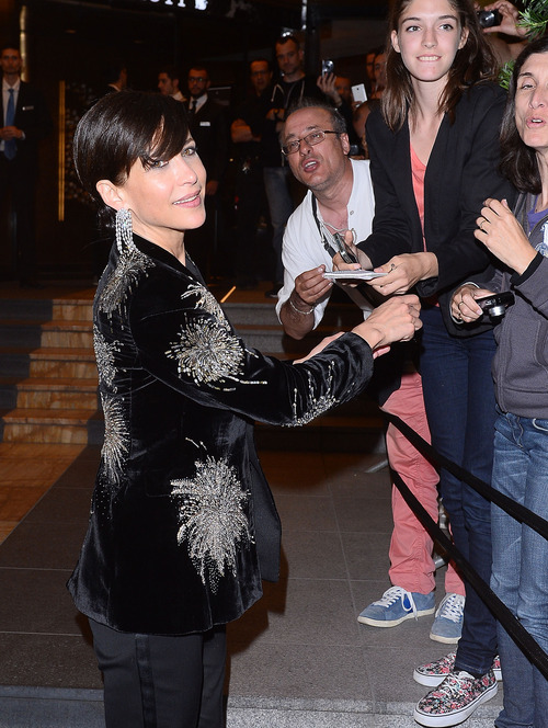 Sophie Marceau - Cannes Film Festival - Marriot Hotel  (5)