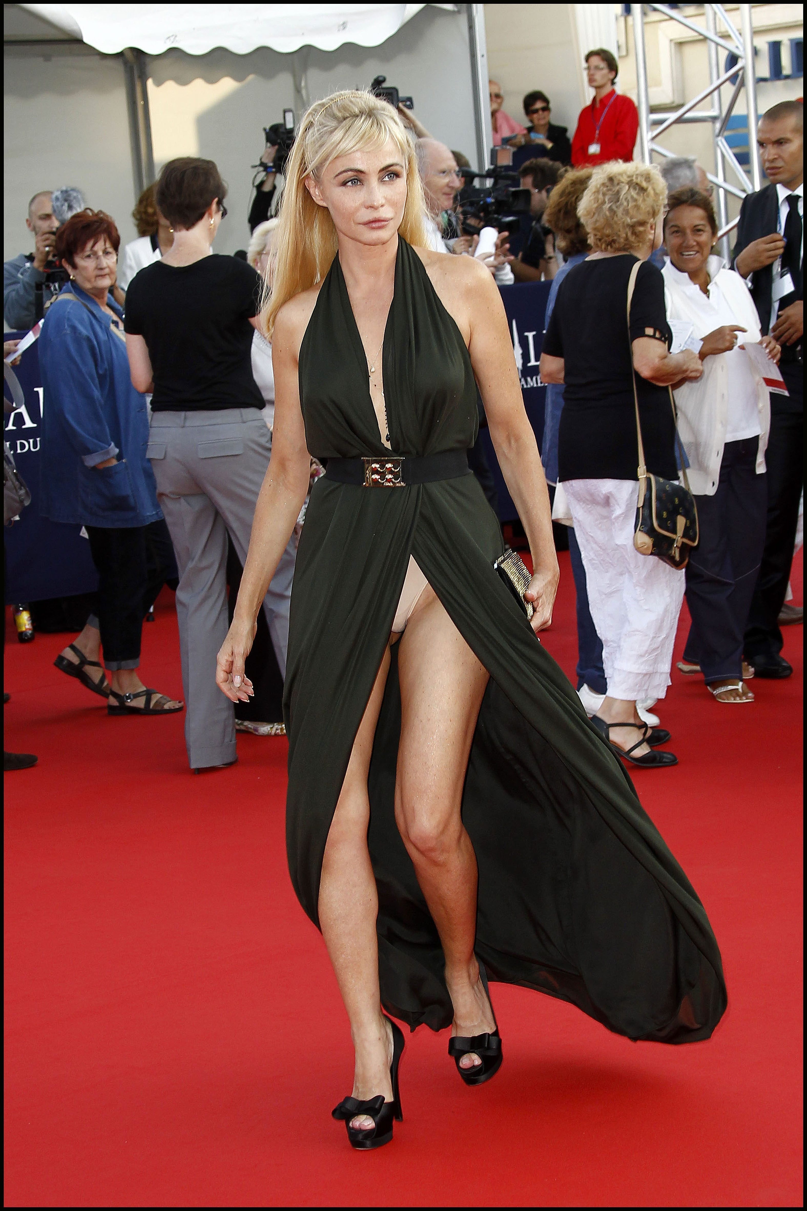Emmanuelle Beart The 36th annual Deauville American Film