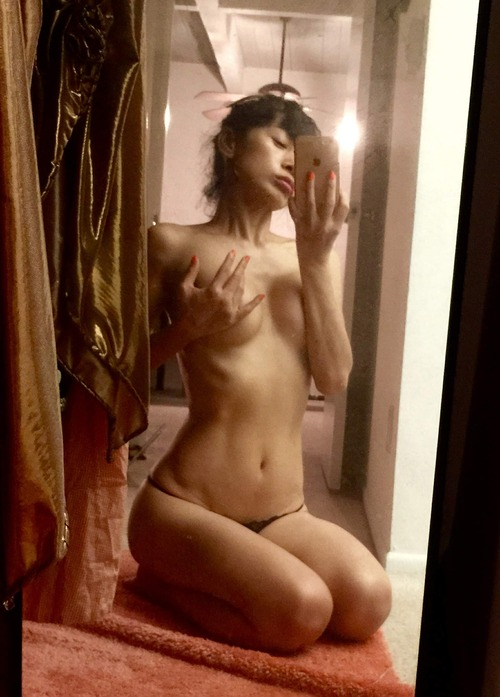 Bai Ling Naked Selfies Private Location (10)