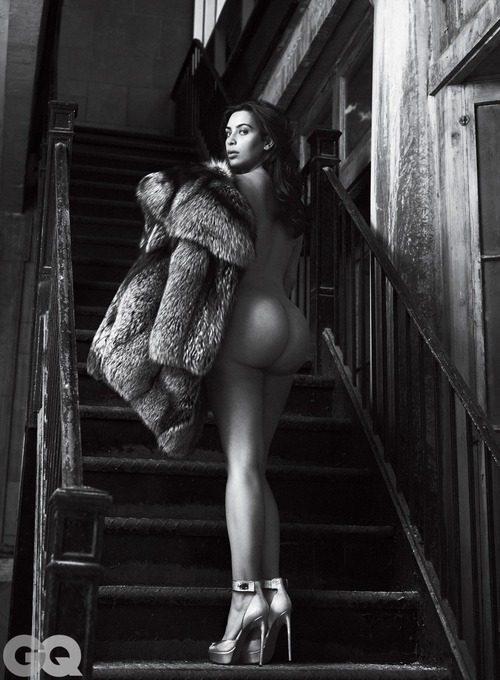 Kim Kardashian Naked for GQ Magazine June 2016