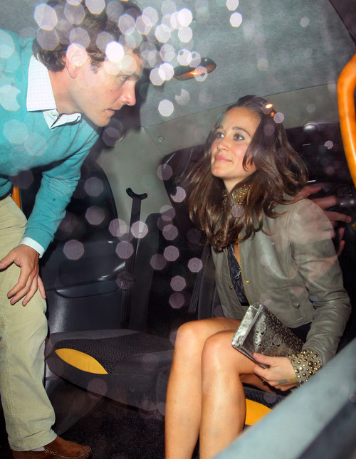 Pippa Middleton outside a nightclub in London (9)