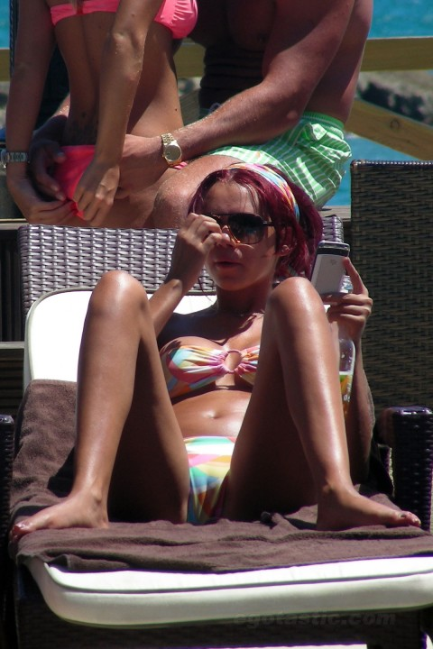 Amy Childs - Bikini Showing Camel Toe (5)