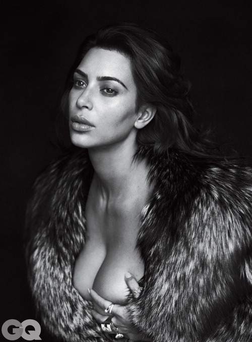 Kim Kardashian Naked for GQ (9)