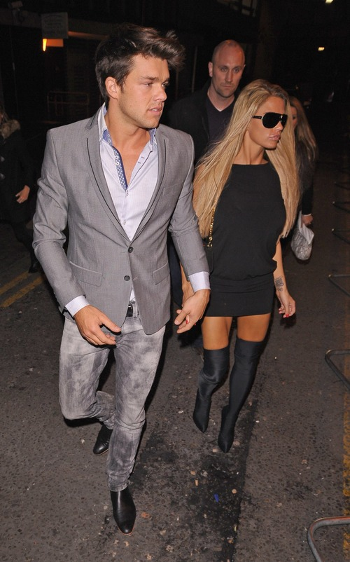 Katie Price - Balans Restaurant and Mahiki Night Club a02