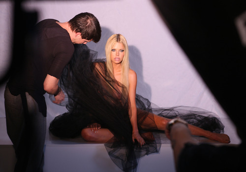 Sophie Monk - Photoshoot for Angel Champagne (2)