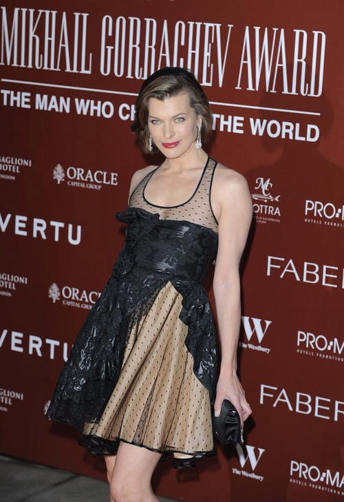 Milla Jovovich - Royal Albert Hall in London