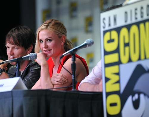 Anna Paquin - At The Comic Con In San Diego (2)