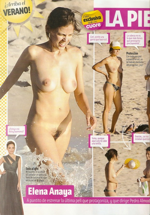 Elena Anaya - naturist beach with her girlfriend  Cuore (2)