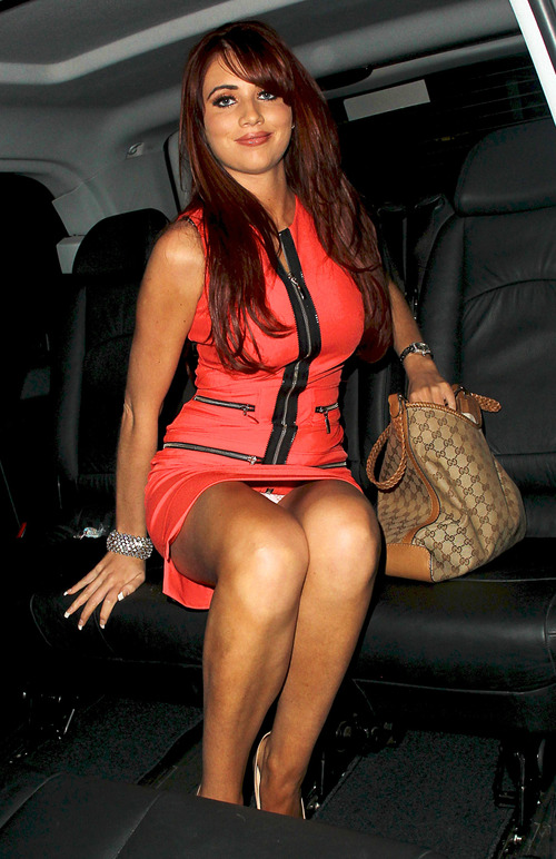 Amy Childs - Opening of Clinic of Fabulous Faces