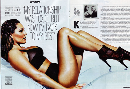 Kelly Brook - Fabulous Magazine April 2015 (4)